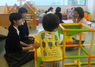 児童施設での聞き取り調査